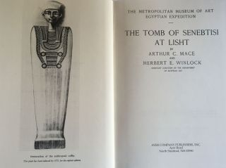 The tomb of Senebtisi at Lisht. MACE Arthur C. - WINLOCK Herbert E[newline]M1024c.jpg