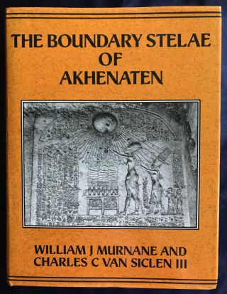 The boundary stelae of Akhenaten. MURNANE William[newline]M1177b.jpg