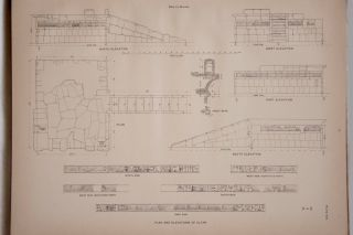 Deir el-Bahari, complete set of 7 volumes: Introduction volume: its plan, its founders and its first explorers. Part I (Pl. I-XXIV): The North-Western end of the upper platform. Part II (Pl. XXV-LV): The ebony shrine. Northern half of the middle platform. Part III (Pl. LVI-LXXXVI): End of northern half and southern half of the middle platform. Part IV (Pl. LXXXVII-CXVIII): The shrine of Hathor and the southern hall of offerings. Part V (Pl. CXIX-CL): The upper court and sanctuary. Part VI (Pl. CLI-CLXXIV): The lower terrace, additions and plans.[newline]M1197-11.jpg