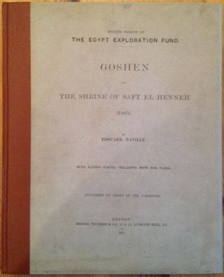 Goshen and The shrine of Saft el-Henneh. 1885. NAVILLE Edouard[newline]M1202.jpg