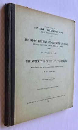 The mound of the Jew and the city of Onias. Belbeis, Samanood, Abusir, Tukh el-Karmus. 1887. The antiquities of Tell el-Yahudiyeh and miscellaneous works in Lower Egypt during the years 1887-1888[newline]M1206a-01.jpg