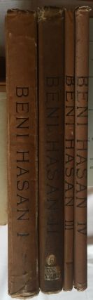 Beni Hasan. Part I, II, III & IV (complete set). GRIFFITH Francis Llewellyn T. - NEWBERRY Percy E.[newline]M1209a.jpg