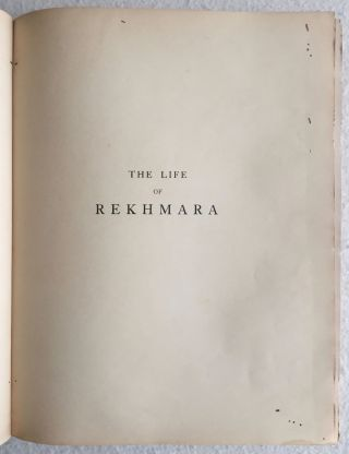 The Life of Rekhmara, Vezîr of Upper Egypt Under Thothmes III and Amenhetep II (circa B.C. 1471-1448)[newline]M1213a-03.jpg