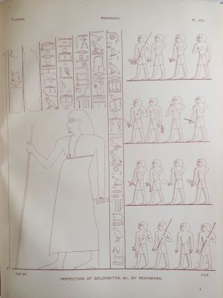 The Life of Rekhmara, Vezîr of Upper Egypt Under Thothmes III and Amenhetep II (circa B.C. 1471-1448)[newline]M1213a-21.jpg