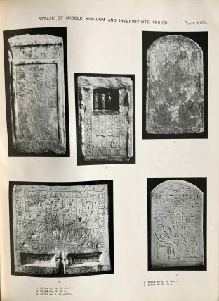 The cemeteries of Abydos. Part I: The mixed cemetery and Umm el-Ga'ab. Part II: 1911-1912. Part III: 1912-1913. (complete set)[newline]M1245b-19.jpg