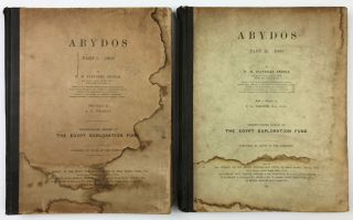 Abydos. Part I & II. 1902-1903 (without part III). PETRIE William M. Flinders[newline]M1258d-00.jpeg