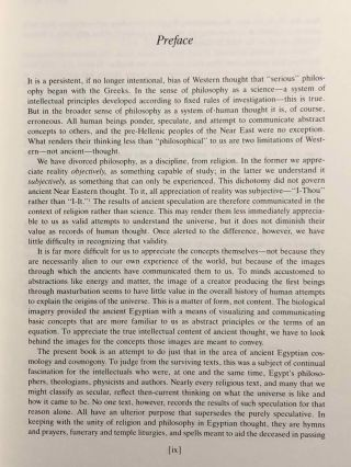 Genesis in Egypt. The Philosophy of Ancient Egyptian Creation Accounts.[newline]M1264-04.jpg