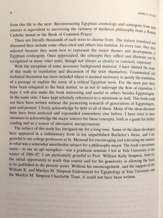Genesis in Egypt. The Philosophy of Ancient Egyptian Creation Accounts.[newline]M1264-05.jpg
