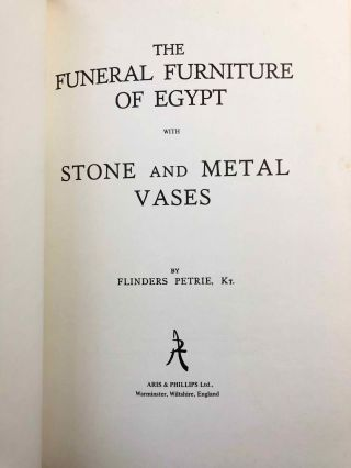 The funeral furniture of Egypt & Stone and metal vases[newline]M1282a-01.jpg