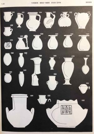 The funeral furniture of Egypt & Stone and metal vases[newline]M1282a-10.jpg