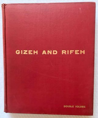 Gizeh and Rifeh. Double volume.[newline]M1284f-01.jpg
