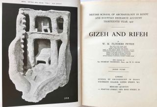 Gizeh and Rifeh. Double volume.[newline]M1284f-02.jpg