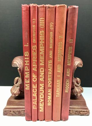 Memphis series, set of 6 volumes. Vol. I: Memphis I. Vol. II: The palace of Apries (Memphis II)....[newline]M1294g.jpg