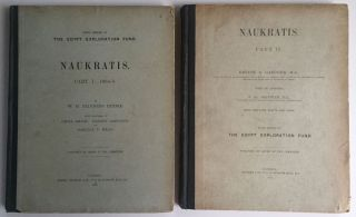 Naukratis. Part I. 1884-5. Part II (complete set). PETRIE William M. Flinders[newline]M1297b.jpg