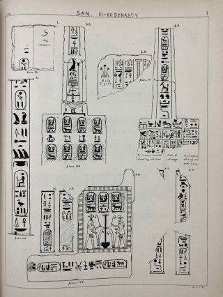 Tanis. Part I. 1883-4. Part II: Tanis II & Nebesheh (Am) and Defenneh (Tahpanhes) (complete set)[newline]M1311c-13.jpg