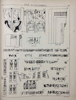 Tanis. Part I. 1883-4. Part II: Tanis II & Nebesheh (Am) and Defenneh (Tahpanhes) (complete set)[newline]M1311c-14.jpg