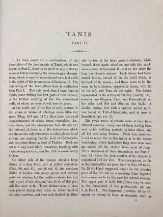 Tanis. Part I. 1883-4. Part II: Tanis II & Nebesheh (Am) and Defenneh (Tahpanhes) (complete set)[newline]M1311c-20.jpg