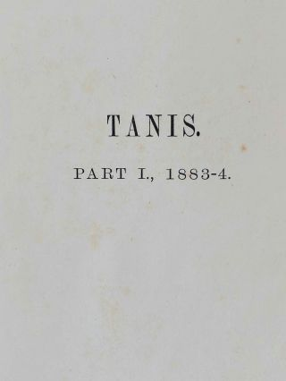 Tanis. Part I. 1883-4. Part II: Tanis II & Nebesheh (Am) and Defenneh (Tahpanhes) (complete set)[newline]M1311d-02.jpg