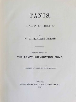Tanis. Part I. 1883-4. Part II: Tanis II & Nebesheh (Am) and Defenneh (Tahpanhes) (complete set)[newline]M1311d-04.jpg