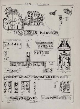 Tanis. Part I. 1883-4. Part II: Tanis II & Nebesheh (Am) and Defenneh (Tahpanhes) (complete set)[newline]M1311d-14.jpg