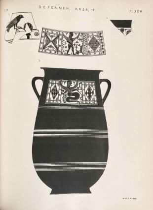 Tanis. Part I. 1883-4. Part II: Tanis II & Nebesheh (Am) and Defenneh (Tahpanhes) (complete set)[newline]M1311d-39.jpg