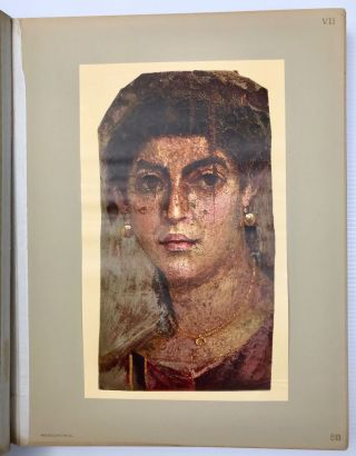 The Hawara portfolio: paintings of the Roman Age. Found by W.M. Flinders Petrie - 1888 and 1911[newline]M1319a-06.jpg