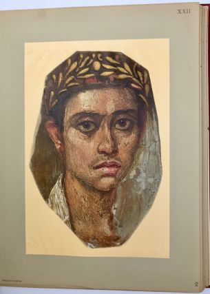 The Hawara portfolio: paintings of the Roman Age. Found by W.M. Flinders Petrie - 1888 and 1911[newline]M1319a-07.jpg
