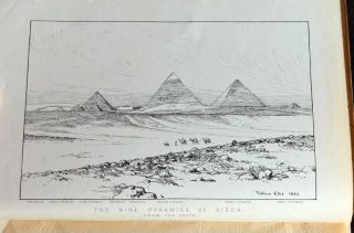 The pyramids and temples of Gizeh. PETRIE William M. Flinders[newline]M1323.jpg