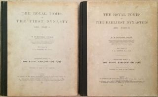 The royal tombs of the First dynasty. Part I & II (complete set)[newline]M1324a-01.jpg