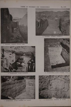 The royal tombs of the First dynasty. Part I & II (complete set) + rare supplement of 35 extra-plates[newline]M1324b-02.jpg