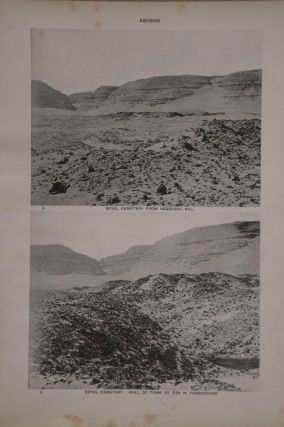 The royal tombs of the First dynasty. Part I & II (complete set) + rare supplement of 35 extra-plates[newline]M1324b-08.jpg