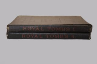 The royal tombs of the First dynasty. Part I & II (complete set) + rare supplement of 35 extra-plates[newline]M1324b-12.jpg