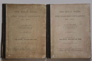The royal tombs of the First dynasty. Part I & II (complete set) + rare supplement of 35 extra-plates[newline]M1324b-13.jpg