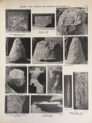 The royal tombs of the First dynasty. Part I & II (complete set). With chapter by F.Ll. Griffith[newline]M1324d-11.jpg
