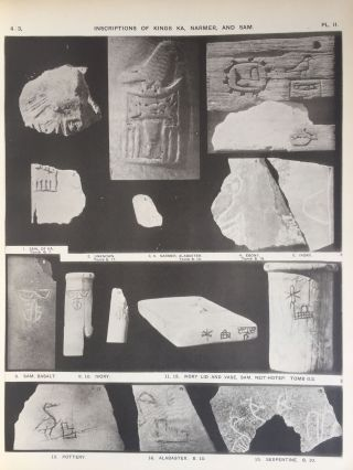 The royal tombs of the First dynasty. Part I & II (complete set). With chapter by F.Ll. Griffith[newline]M1324d-30.jpg
