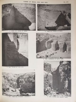 The royal tombs of the First dynasty. Part I & II (complete set). With chapter by F.Ll. Griffith[newline]M1324d-37.jpg