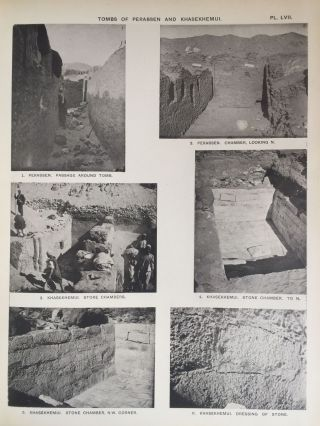 The royal tombs of the First dynasty. Part I & II (complete set). With chapter by F.Ll. Griffith[newline]M1324d-38.jpg