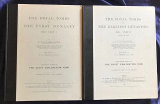 The royal tombs of the First dynasty. Part I & II (complete set)[newline]M1324g-01.jpg