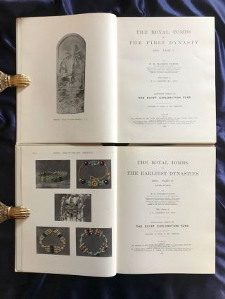 The royal tombs of the First dynasty. Part I & II (complete set)[newline]M1324g-03.jpg