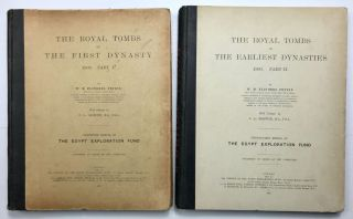The royal tombs of the First dynasty. Part I & II (complete set)[newline]M1324h-01.jpg