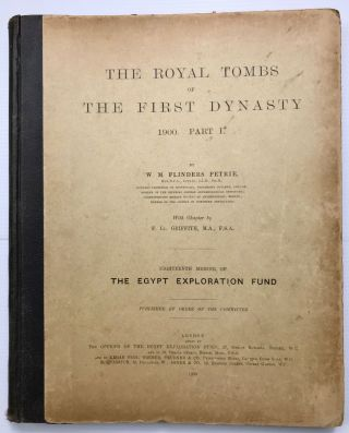 The royal tombs of the First dynasty. Part I & II (complete set)[newline]M1324h-02.jpg