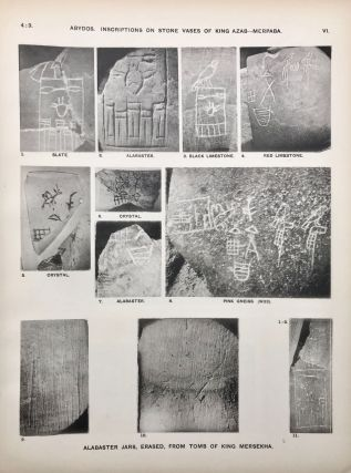 The royal tombs of the First dynasty. Part I & II (complete set)[newline]M1324h-09.jpg