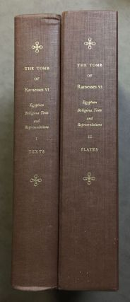 The tomb of Ramesses VI. Vol. I: Texts. Vol. II: Plates (complete set). Translated with introduction by Alexandre Piankoff. Edited by N. Rambova. PIANKOFF Alexandre.[newline]M1341b.jpg