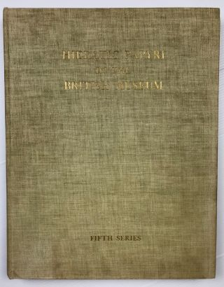 The Abu Sir papyri. Edited, together with Complementary Texts in other collections.[newline]M1382h-01.jpeg