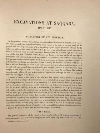 Excavations at Saqqara (1907-1908). With sections by Herbert Thompson and W. Spiegelberg[newline]M1391a-05.jpg