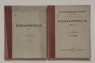 Hierakonpolis. Part I & II (complete set). Plates of discovery in 1898. With notes by...[newline]M1393.jpg