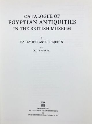 Catalogue of Egyptian antiquities in the British Museum. Vol. V: Early dynastic objects[newline]M1609a-01.jpg