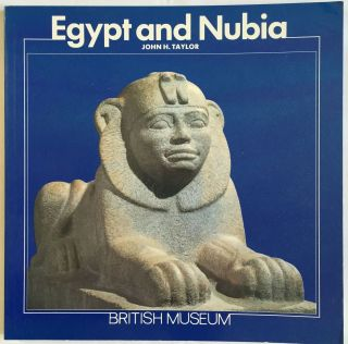 Egypt and Nubia. TAYLOR John H.