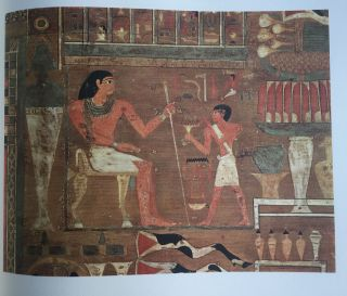 Egyptian paintings of the Middle Kingdom - The tomb of Djehutynekht[newline]M1635a-09.jpg