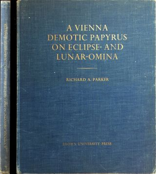 A Vienna Demotic Papyrus on Eclipse- and Lunar-Omina. Edited with translation and commentary....[newline]M1639b.jpg
